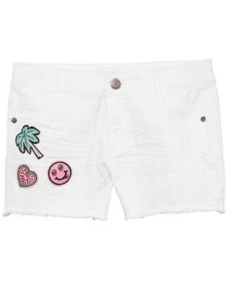 Big Girls Patched Twill Shorts, Created for Macy's