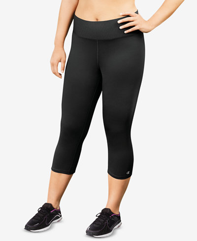 Plus Size Champion Absolute Capri Leggings Black