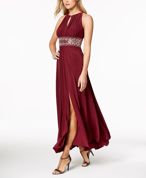 R & M Richards R&M Richards Beaded Gown