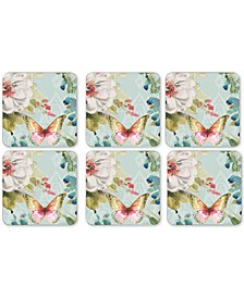Pimpernel Coloful Breeze Set of 6 Coasters