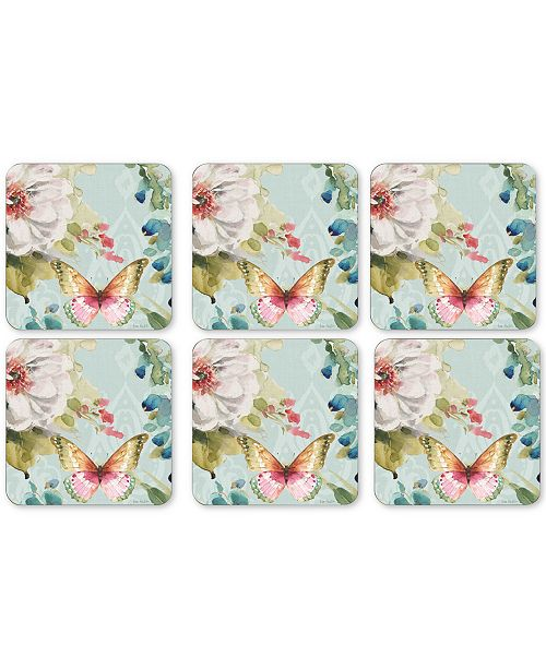 Portmeirion Pimpernel Coloful Breeze Set of 6 Coasters