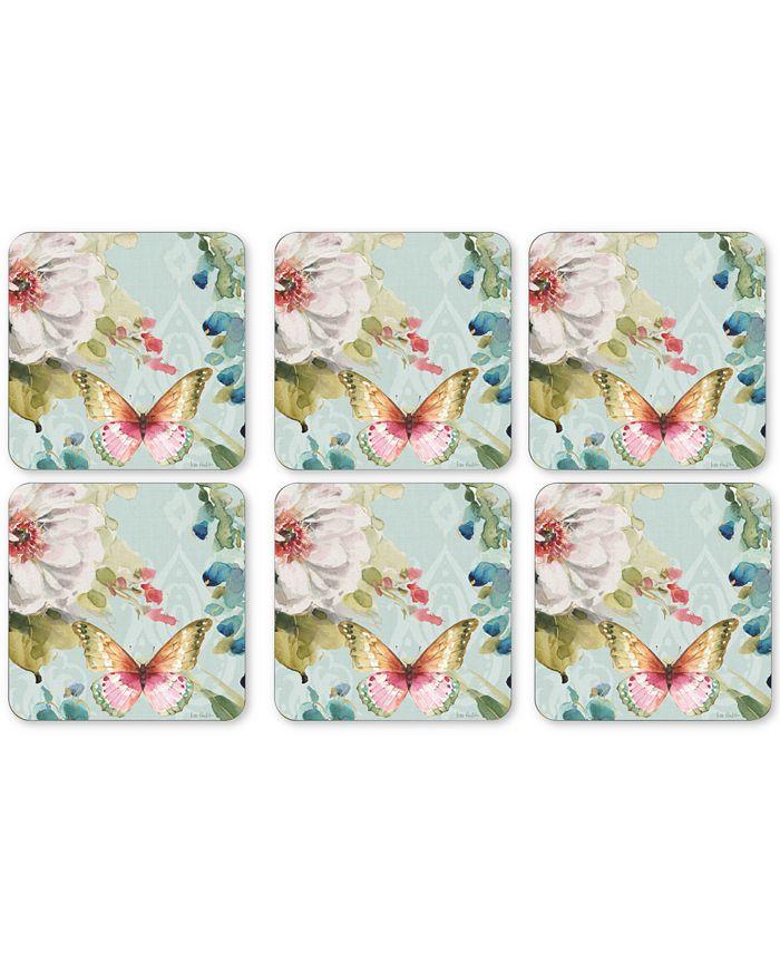 Portmeirion - Coloful Breeze Set of 6 Coasters