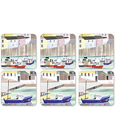 Pimpernel Harbor Set of 6 Coasters