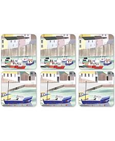 Pimpernel Harbor Set of 6 Coasters