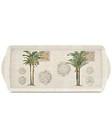 Pimpernel Vintage Palm Study Melamine Sandwich Tray