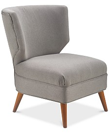 Elle Decor Amelie Accent Chair, Quick Ship