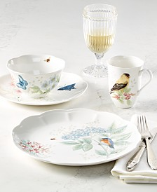 Lenox Butterfly Meadow Flutter Dinnerware Collection