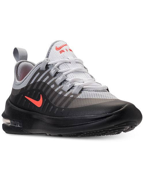 7d7a8776cd5 ... Nike Big Boys  Air Max Axis Casual Running Sneakers from Finish ...