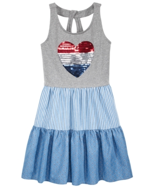 Epic Threads Sequin Heart Tank Dress Big Girls Created for Macys