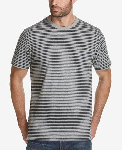 Weatherproof Vintage Men's Striped Pocket T-Shirt