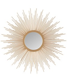 Madison Park Fiore Sunburst Large Mirror