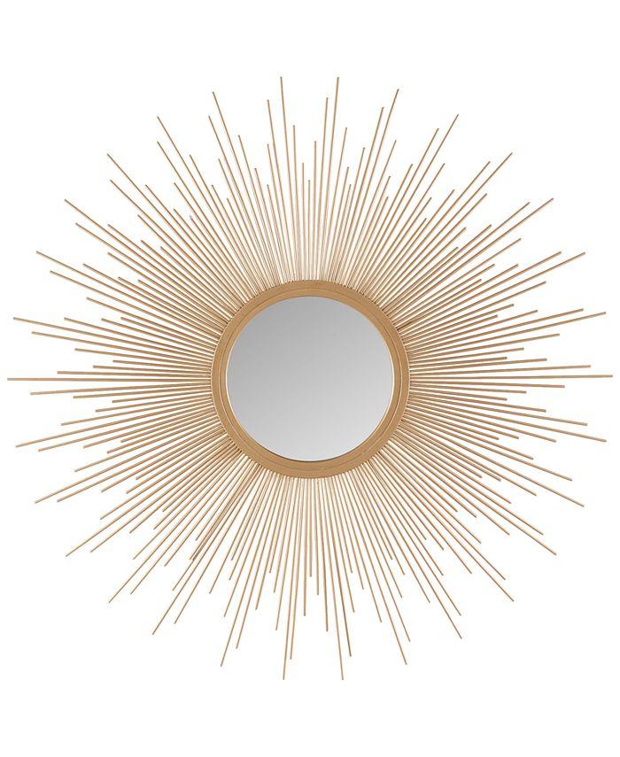JLA Home - Madison Park Fiore Sunburst Large Mirror
