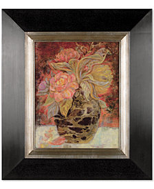 Uttermost Floral Bunda Framed Wall Art