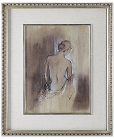 Uttermost Contemporary Draped Figure Feminine Wall Art