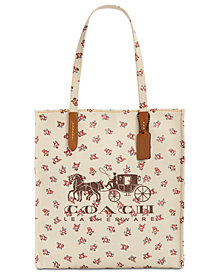 COACH Horse & Carriage Medium Tote