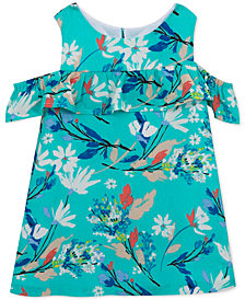 Rare Editions Baby Girls Floral-Shift Dress