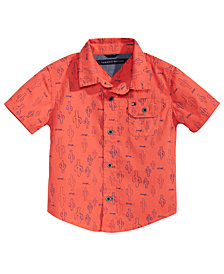 Tommy Hilfiger Baby Boys Cactus-Print Cotton Shirt