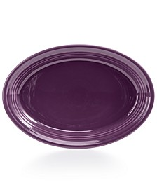 "Mulberry 13"" Oval Platter"