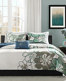 Allison 4-Pc. Full/Queen Coverlet Set