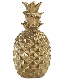 Madison Park Signature Pineapple Decor Small