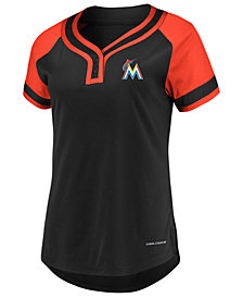 Majestic Women's Miami Marlins League Diva T-Shirt