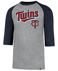 '47 Brand Men's Minnesota Twins Pregame Raglan T-shirt
