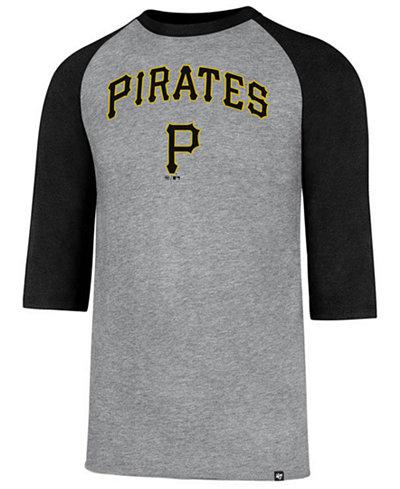 '47 Brand Men's Pittsburgh Pirates Pregame Raglan T-shirt