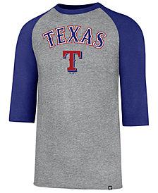 '47 Brand Men's Texas Rangers Pregame Raglan T-shirt