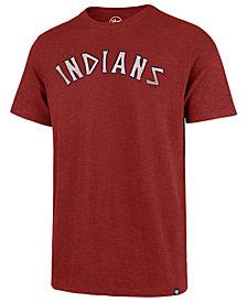 '47 Brand Men's Cleveland Indians Scrum Logo T-Shirt