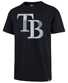 '47 Brand Men's Tampa Bay Rays Scrum Logo T-Shirt