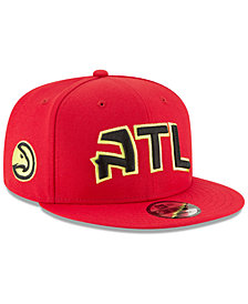 New Era Atlanta Hawks Statement Jersey Hook 9FIFTY Snapback Cap
