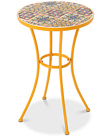 Kyle Round Side Table, Quick Ship