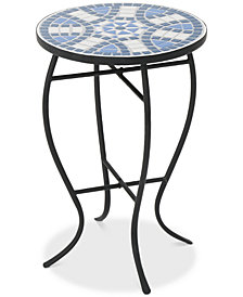 Clayton Round Side Table, Quick Ship