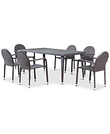 Brentwood 7-Pc. Outdoor Dining Set, Quick Ship