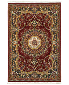 "Oriental Weavers Masterpiece Corsica Red 3'10"" x 5'5"" Area Rug"