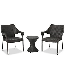Dylan 3-Pc. Outdoor Chat Set