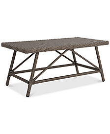 Jeremy Outdoor Coffee Table, Quick Ship
