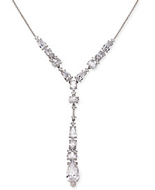 Danori Crystal Lariat Necklace, Created for Macy's