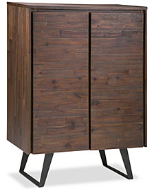 Minah Medium Storage Cabinet, Quick Ship