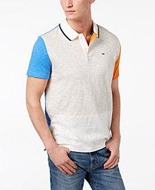 Tommy Hilfiger Denim Men's Owen Pieced Colorblocked Polo