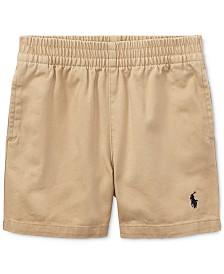 Ralph Lauren Twill Sport Shorts, Baby Boys
