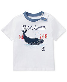 Polo Ralph Lauren Graphic Cotton T-Shirt, Baby Boys