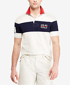Polo Ralph Lauren Men's CP-93 Classic-Fit Rugby Shirt, Created for Macy's