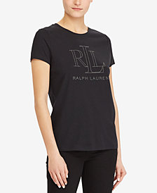 Lauren Ralph Lauren Logo Graphic T-Shirt