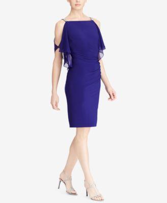 parfum angel ralph lauren lace crepe dress