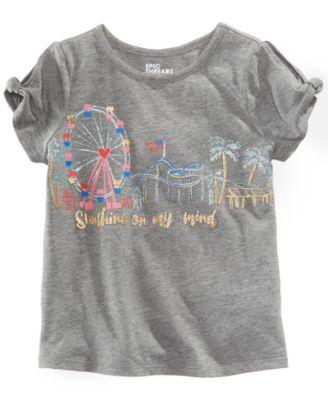 Little Girls Carnival T-Shirt, Created for Macy's