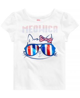Little Girls Graphic-Print T-Shirt, Created for Macy's