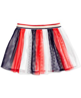 Toddler Girls Striped Tulle Skirt, Created for Macy's