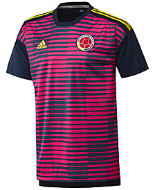 adidas Men's ClimaLite® Colombia Football Federation Soccer Shirt