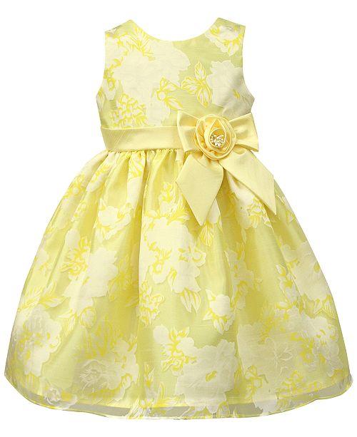Jayne Copeland Floral Organza Dress, Toddler Girls